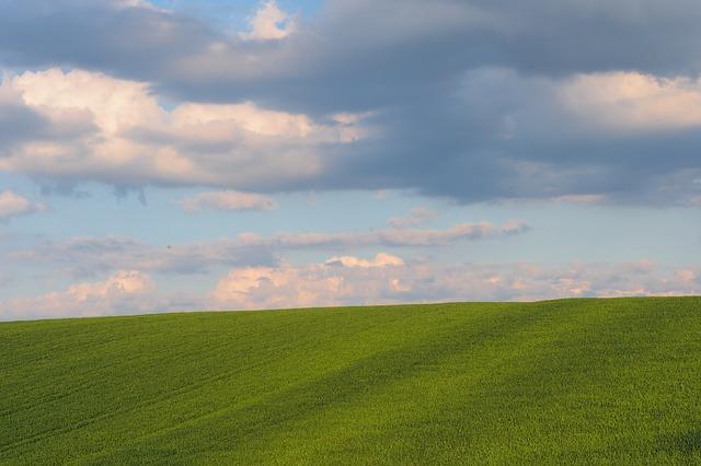 chmury photo